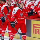 New Belfast Giants signing Patryk Wronka playing for Poland
