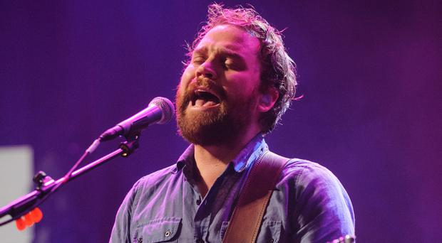 Scott Hutchison of Frightened Rabbit performing at the iTunes Festival 2012 (Dominic Lipinski/PA)