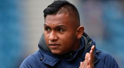 In frame: Alfredo Morelos has served his four-match ban