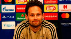 Right mindset: Daley Blind is ready for the second leg