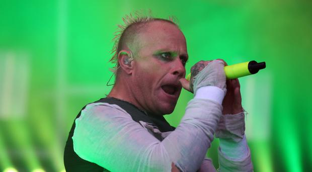 Keith Flint from The Prodigy (Andrew Milligan/PA)