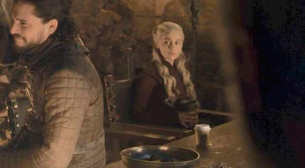 The coffee cup in Game of Thrones