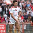 Brave choice: Darren McCurry's goal proved the winner for Tyrone