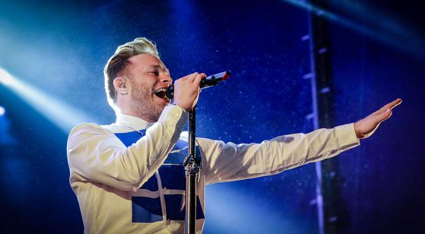 Olly Murs performs at Feile in west Belfast on August 11th 2018 (Photo by Kevin Scott for Belfast Telegraph)