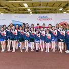 Abbey Gymnastics Club from Belfast, who will represent GB at the World Gymnaestrada in Austria in July (Pic: British Gymnastics)