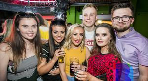 15 May 2019 People out at Filthy McNastys for Craics 90 Tuesdays. Liam McBurney/RAZORPIX