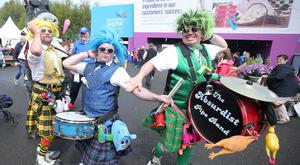 Day three of the Balmoral Show in partnership with Ulster Bank at Balmoral Park outside Lisburn. Entertainment at the show. Picture by Jonathan Porter/PressEye