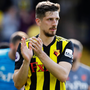 Ready for battle: Watford and Northern Ireland defender Craig Cathcart says his side don't fear the might of Manchester City