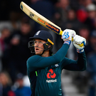 Class: Jason Roy's century had the home side coasting