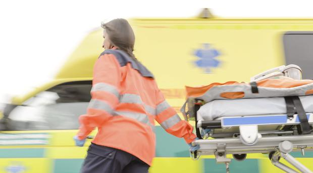 In today's paper we publish a story about a paramedic who has revealed the intense pressures which he and his colleagues are facing. Image posed