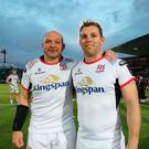 An emotional farewell for Rory Best and Darren Cave