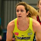Great escape: Manchester Thunder's Caroline O'Hanlon