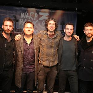 Snow Patrol pictured at the Oh Yeah centre in Belfast where they announced their Bangor Ward Park gig on 25 May 2019. It will be the third time the band have played the venue. Picture by Jonathan Porter/PressEye
