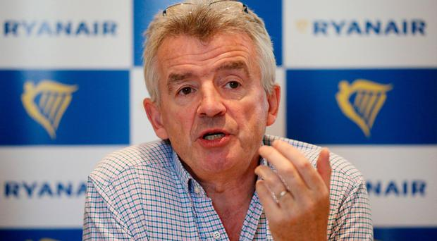 Fare decline: Michael O'Leary
