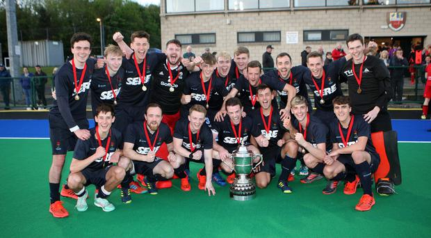 Anderson Cup Final Banbridge v Lisnagarvey Winners Lisnagarvey Picture by Freddie Parkinson ©