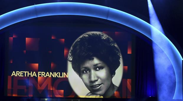 Aretha Franklin (Photo by Chris Pizzello/Invision/AP)