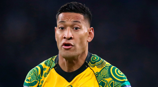 Controversy: Israel Folau says he is considering his options