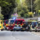 Emergency Services at the scene of a serious RTC on the A2 Bangor to Belfast road close to Station Road on May 21st 2019 (Photo by Kevin Scott for Belfast Telegraph)