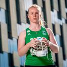 First step: Keeper Ayeisha McFerran believes a full-time set-up is the way forward for Irish hockey