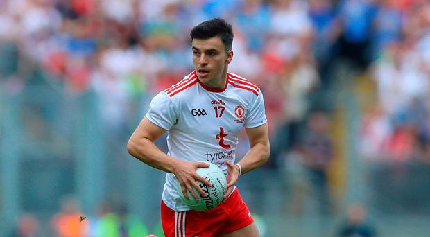 Kicking heels: Lee Brennan has fallen out of favour at Tyrone