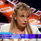 Martina Anderson to took part in the BBC European election debate on Tuesday night. Credit: BBC