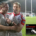 Chris Henry (left) and Andrew Trimble were this week's guests on the Ulster Rugby Round Up podcast.