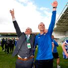 Coleraine chairman Colin McKendry (left) says he will not be welcoming back formemr manager Oran Kearney (right).