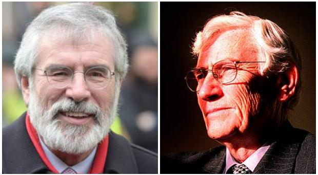 Gerry Adams has rejected a proposal from Seamus Mallon.