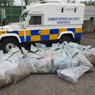 Police seized more than £600,000 of cannabis. Credit: PSNI