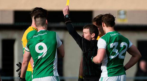 Heating up: Tempers have flared in recent meetings between Donegal and Fermanagh