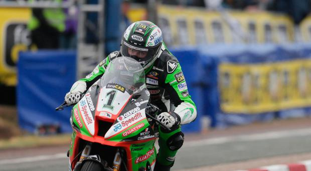 Turning point: Glenn Irwin aims to build on his NW200 victory
