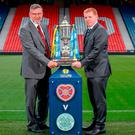 Final chapter: Hearts' Craig Levein and Neil Lennon of Celtic