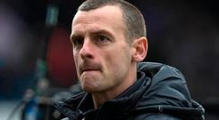 Honours even: St Mirren manager Oran Kearney