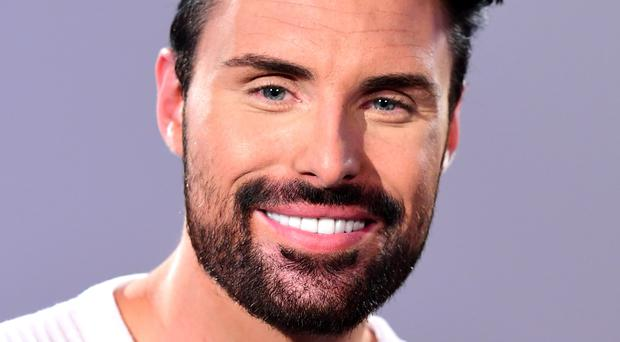 Rylan Clark-Neal was not impressed with Theresa May (Ian West/PA)
