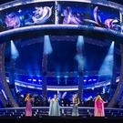 The stage for the Spice Girls reunion tour (Andrew Timms/PA)