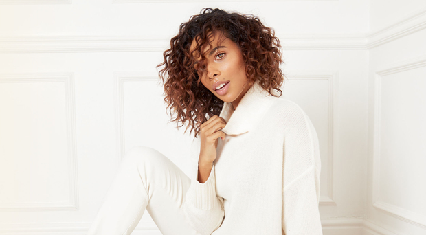 Singer and presenter Rochelle Humes