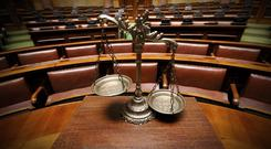 Stronge, who was in attendance but did not participate, walked free from court (stock photo)