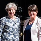 Prime Minister Theresa May and DUP leader Arlene Foster