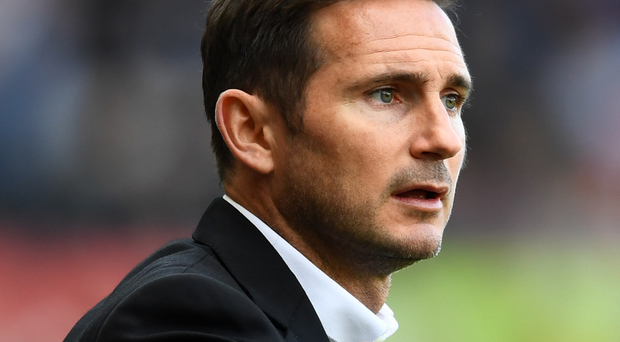 True-Blue: Frank Lampard has been linked with Chelsea