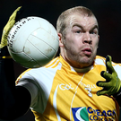 Fighter: Paddy Cunningham has battled bravely on and off the field