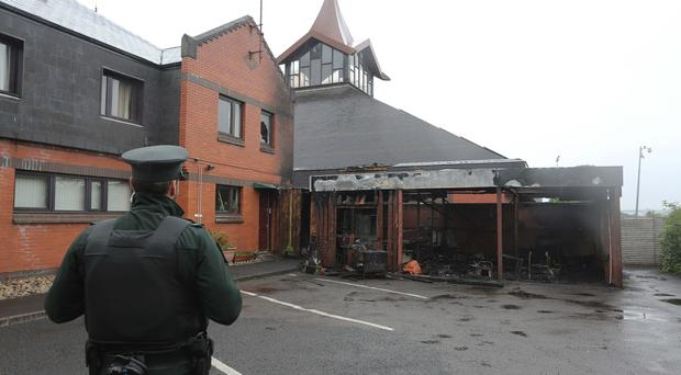 DUP blasts arson attack on Derry Catholic church as 'terrible act of vandalism and desecration'
