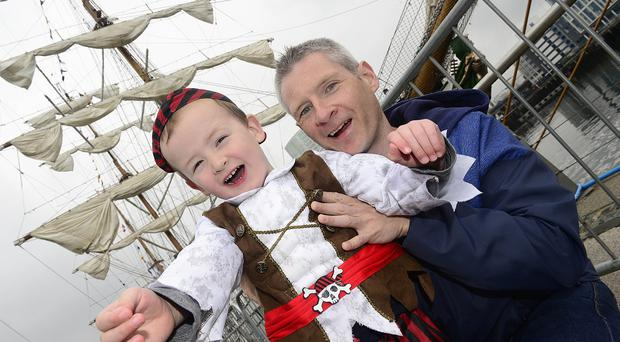 The Belfast Titanic Maritime Festival continues on Sunday. Picture By: Arthur Allison/Pacemaker Press