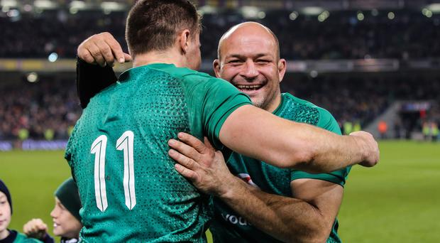 Ulster duo Jacob Stockdale and Rory Best feature in the Irish Independent's list of Ireland's top 50 players.