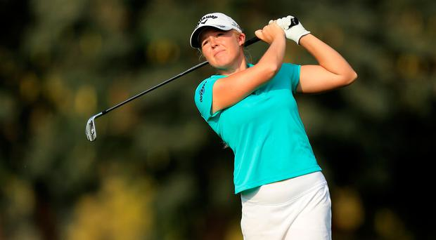 Real belief: Stephanie Meadow is confident she can shine in the US Open