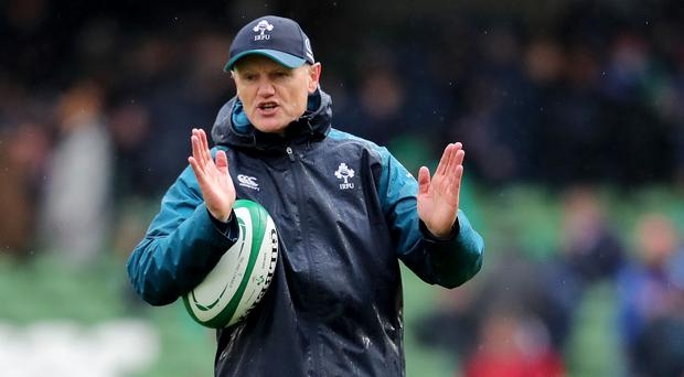Sizing up: Joe Schmidt will be looking for reasons to both include and cut players from his Ireland squad