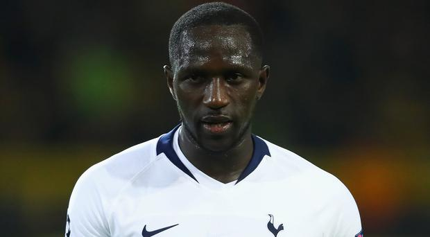 Happy man: Moussa Sissoko had a difficult start at Spurs