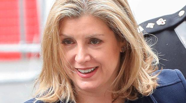 Fighting adversity: Penny Mordaunt
