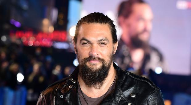 Jason Momoa shared a throwback picture from the first season of Game Of Thrones (Ian West/PA)