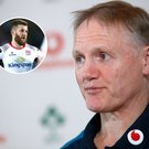 Ireland coach Joe Schmidt has left Stuart McCloskey (inset) out of his World Cup training panel, much to the disappointment of Ulster fans.