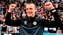 Staying up: Oran Kearney
